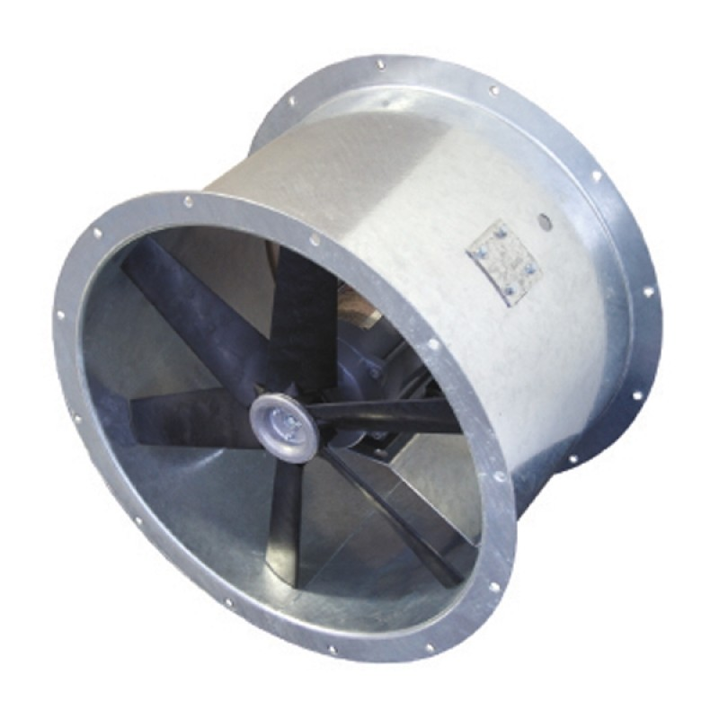 Inline Exhaust Fans Commercial : In line axial fan ex d commercial industrial fans
