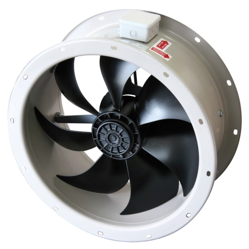 Axial Axial Blower Fans : Short case axial fan commercial industrial fans
