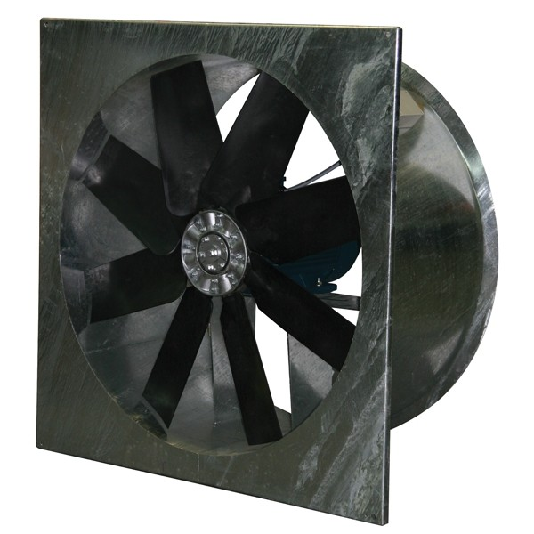 Heavy Duty Plate Mounted Axial Fan