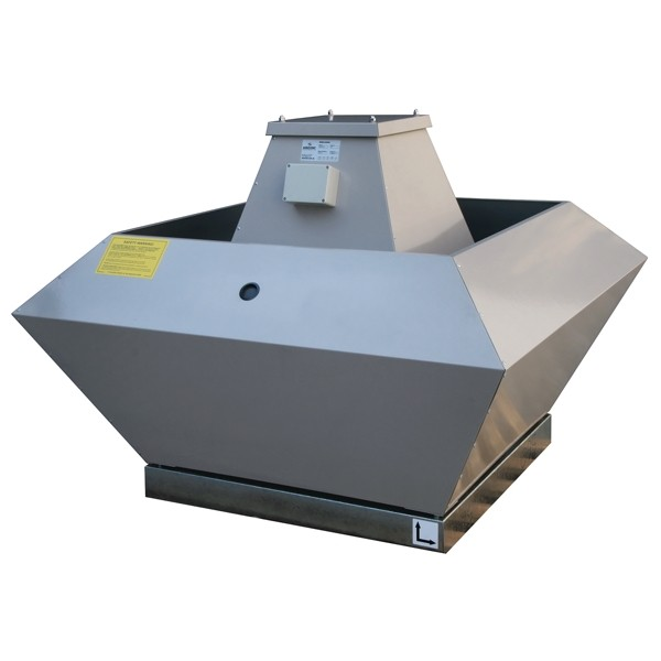 Roof Mounted Centrifugal TEFC Fan Vertical Discharge