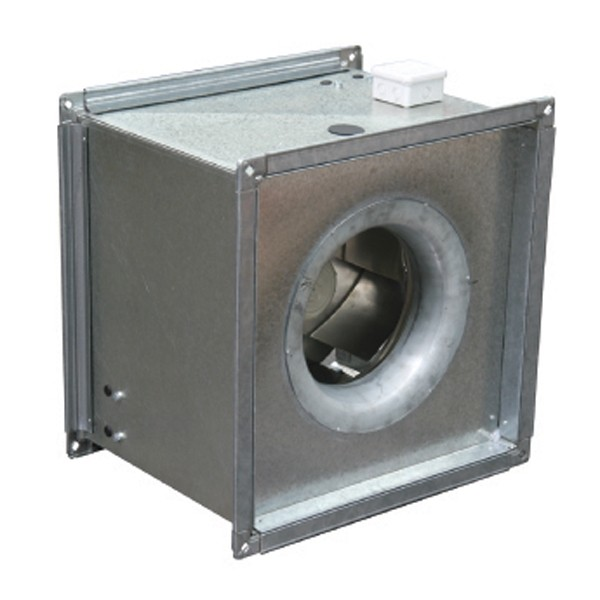 Square Inline Centrifugal Fan TEFC