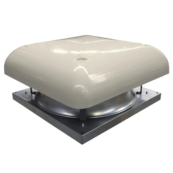 Roof Mounted Axial Fan Horizontal Discharge